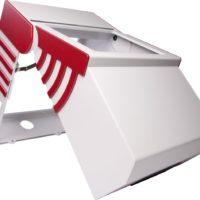 Bild mit einer Beispiel-gehäuselösung für die INKUG Fräs-/Biegetechnik