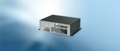 Abbildung des Industrie-PC-Gehäuses