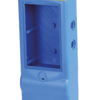 Bild von einem Beispielprodukt der Kunststoff-Spritzgusstechnik