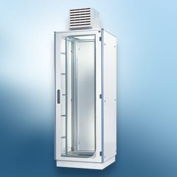 Foto mit einem Gehäuse für Klimatechnik
