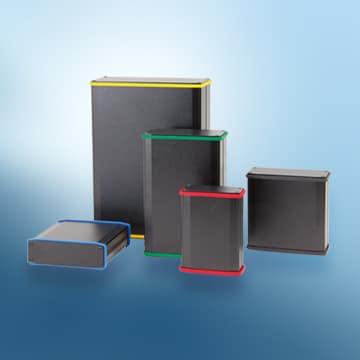 Kleingehäuse Xdream 2U in unterschiedlichen Dimensionen und Farben