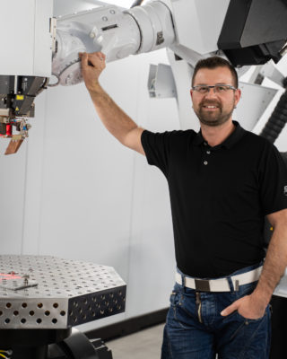 Sebastian Mothes, Produktionsleiter apra-gerätebau Chemnitz